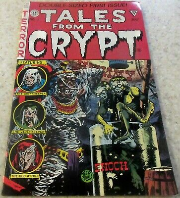 1990 NM- 9.2 Origin of the Crypt Keeper Tales from the Crypt 1 50/% off Guide