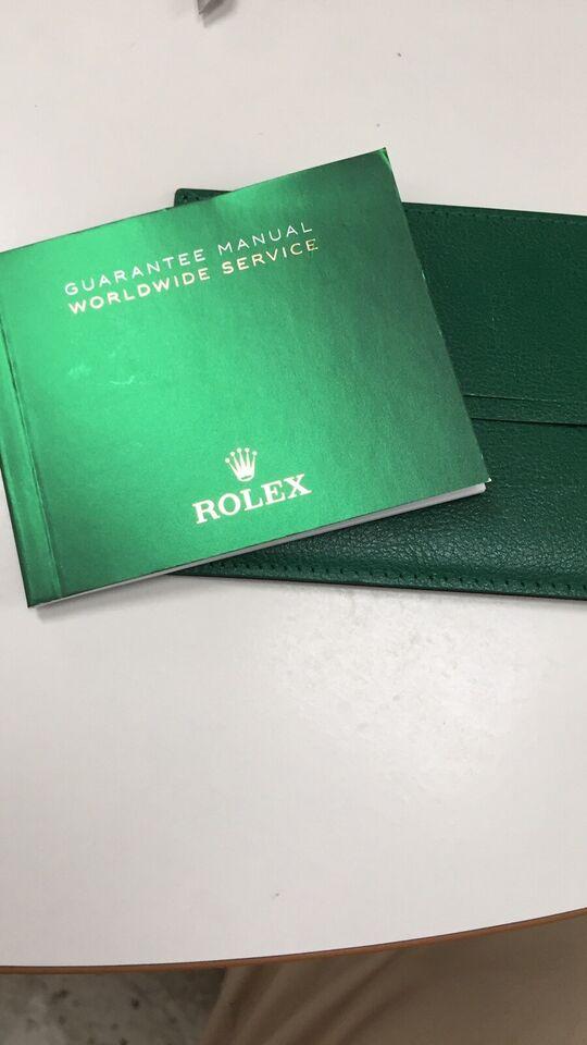 Andet, Rolex