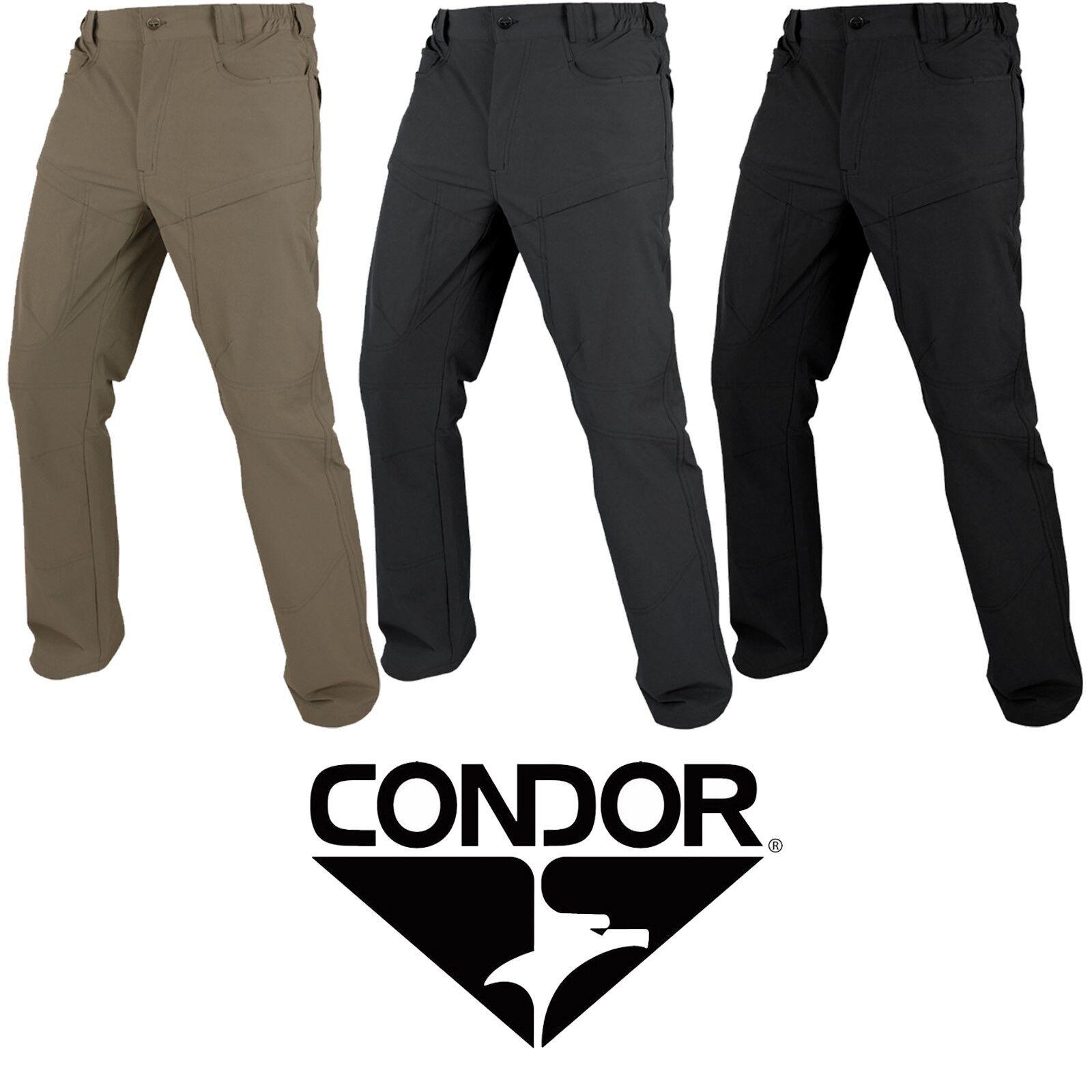 Condor Tattico Caccia Odissea Acqua   Stain Resistente Nylon Cargo Outdoor Pants