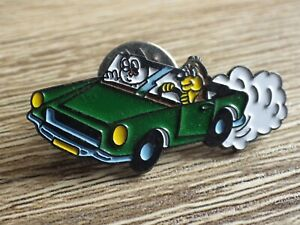 Pin-039-s-vintage-epinglette-Collector-pins-voiture-Pif-amp-Hercules-Lot-PI095