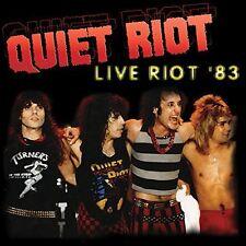 Quiet Riot - Live Riot 83 [New Vinyl]