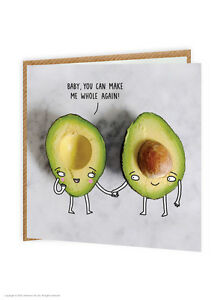 Image Is Loading Brainbox Candy Funny Humour 039 Avocado Whole