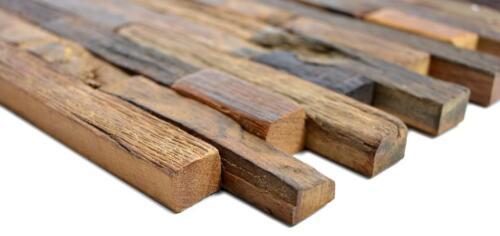 Bois Mosaïque composites bateau Old Wood Bois Mur Cuisine Chambre 160-21/_f 10 Tapis