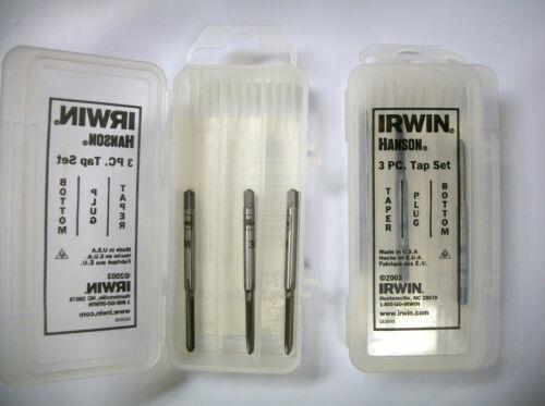 3.0 mm 0.5 mm 3-pc Tap Set Irwin Hanson #2712 Lot of 10