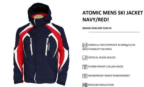 ATOMIC WINTER SKI JACKET NAVY//RED//Man//Woman