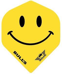 BULLS SMILEY FACE STANDARD DART FLIGHTS