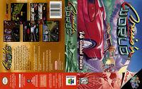 Cruis'n World Custom N64 Case No Game