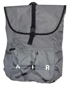 Image is loading Nike-Air-Jordan-Backpack-Color-Dark-Gray-amp- ad56c5a264b7d
