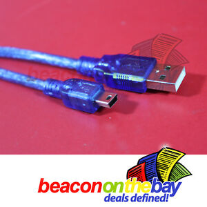 Quality-30cm-USB-2-0-Male-A-to-B-Mini-5-Pin-PC-Cable-Lead-Data-Cord