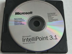 Microsoft Intellipoint 3.1 mouse software Computer CD Rom software disc 1993 - 2
