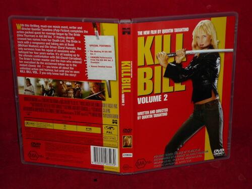 1 of 1 - KILL BILL VOLUME 2 (DVD, MA 15+)