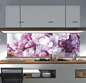 Küchenrückwand Acrylglas Spritzschutz Fliesenspiegel nach Maß BLUME ...