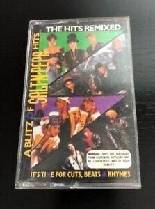 A-Blitz-of-Salt-N-Pepa-Hits-REMIXED-Cassette-Tape-Hip-Hop-Rap-45-King-Push-It