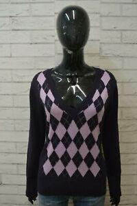 BEST-COMPANY-Maglione-Taglia-L-Cardigan-Donna-Pullover-Sweater-Woman-Lana-Rombi