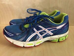 Details about Mens asics Gel Exalt running shoes size 8 blue green red