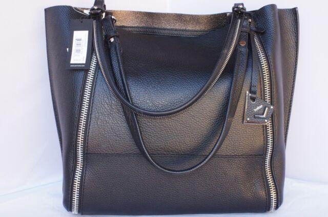 24298d7a9 New Botkier Soho Big Zip Tote Black Bag Shoulder Handbag Holiday Gift Sale