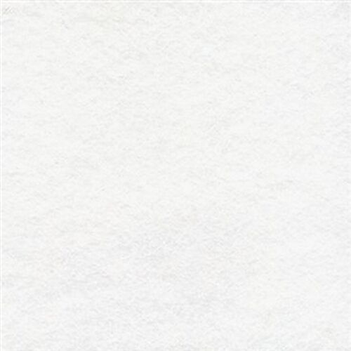 """IDEAL FOR BEAD EMBROIDERY 11/"""" White Acrylic Felt 28cm square"""