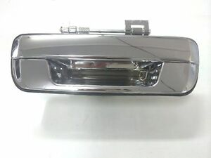 *NEW* TAILGATE HANDLE W/O KEY HOLE for ISUZU D-MAX D MAX 10/2008-5/2012 CHROME