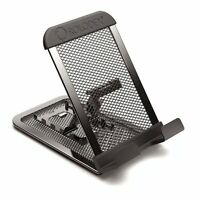 Rolodex Mobile Device Mesh Stand - Vertical, Horizontal - Metal - 1 Each - Black on sale