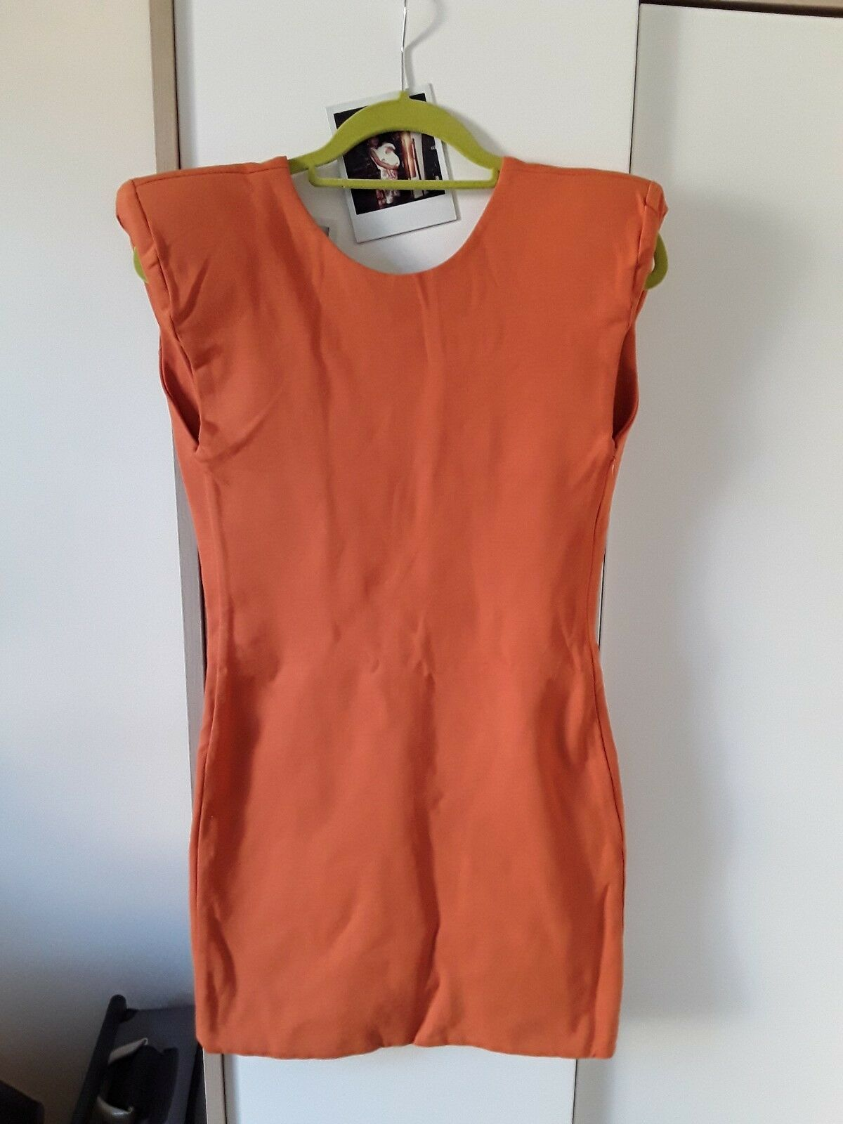 0851ed44 Aqua by Orange back bodycon mini dress aqua low nvivfm3217-Kleider ...