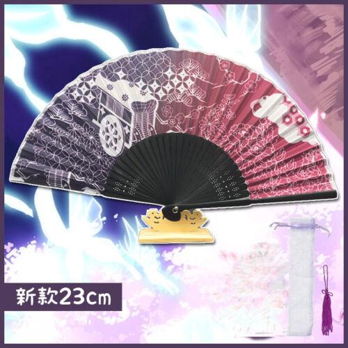 Douhou East Project Saigyouji Yuyuko Imitation Silk Fan Accessory Cosplay Props