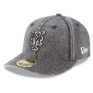 a3c82842fa1 New York Mets MLB New Era Low Profile Faded 59FIFTY Bro Team ...