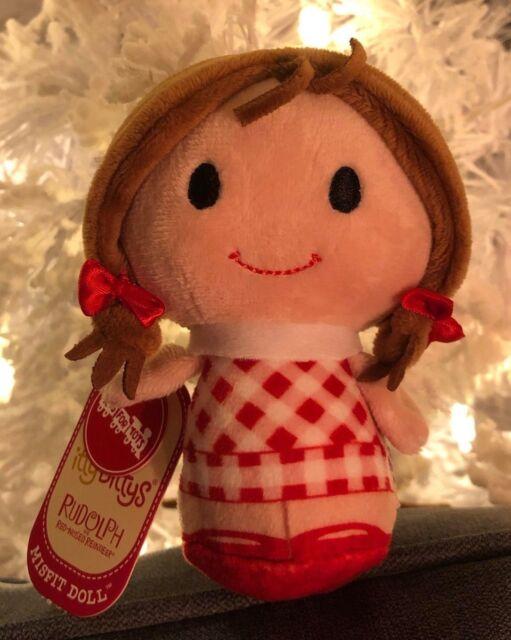Hallmark Itty Bitty Bittys Rudolph Island of Misfit Toys Misfit Doll NEW Plush