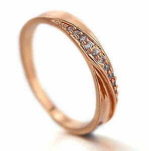 9K-WHITE-ROSE-YELLOW-GOLD-GF-TWISTED-CT-LAB-DIAMOND-ENGAGEMENT-WEDDING-BAND-RING