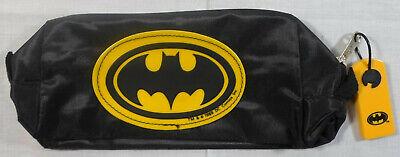 BATMAN VTG 1989 PENCIL CASE BAG DC BATMAN KNIGHT STATIONERY UNUSED ITALY MADE F