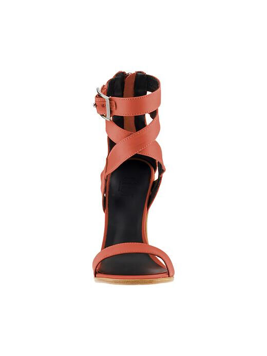 Tibi Vanya High heel Sandale  in Pink Burnt Coral  Sandale SZ 36 ( US 6 ) dacc4b