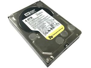 """WD RE WD4000FDYZ 4TB 64MB Cache 7200 RPM SATA 6.0Gb/s 3.5"""" Internal Enterprise H"""