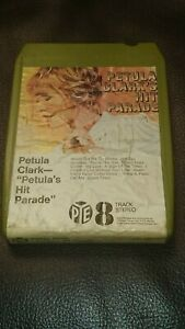 8-Track-Cassette-Cartridge-Eight-petula-Clarke-petula-039-s-hit-parade