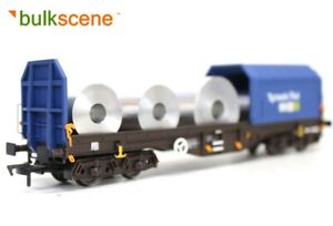 BULKSCENE-PLAIN-METAL-COILS-x5-FOR-DAPOL-TELESCOPIC-STEEL-WAGONS-OO-GAUGE