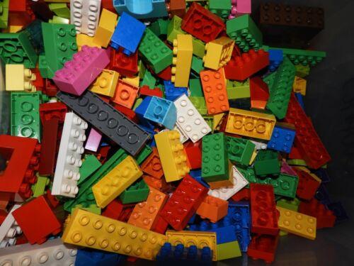 50 pieces About 1 Lb Lot Random Lego DUPLO Building Bricks /& Pieces Gently Used