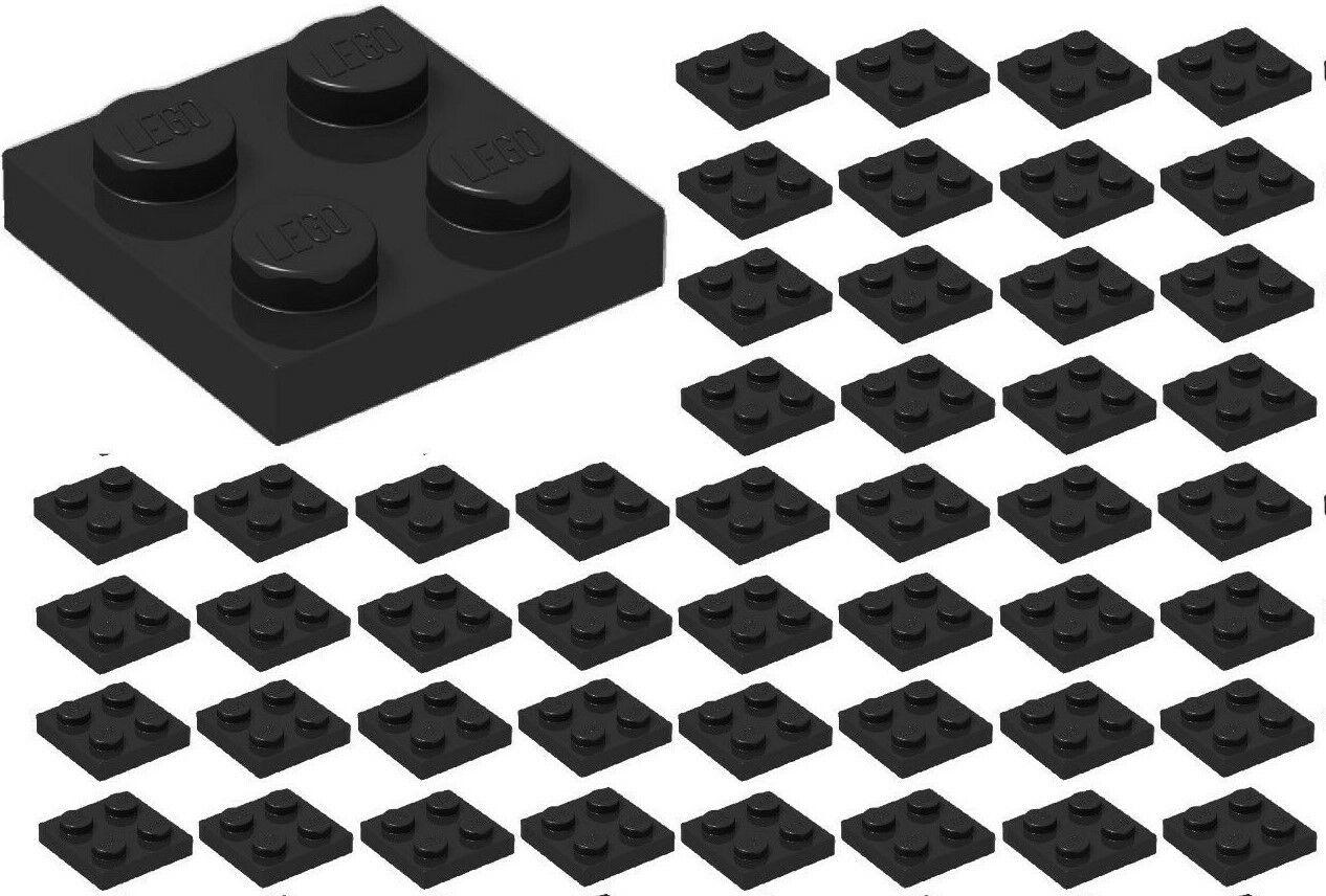 *New* Dark Bluish Grey Lego 2x2 Plate 3022 PACK OF 20