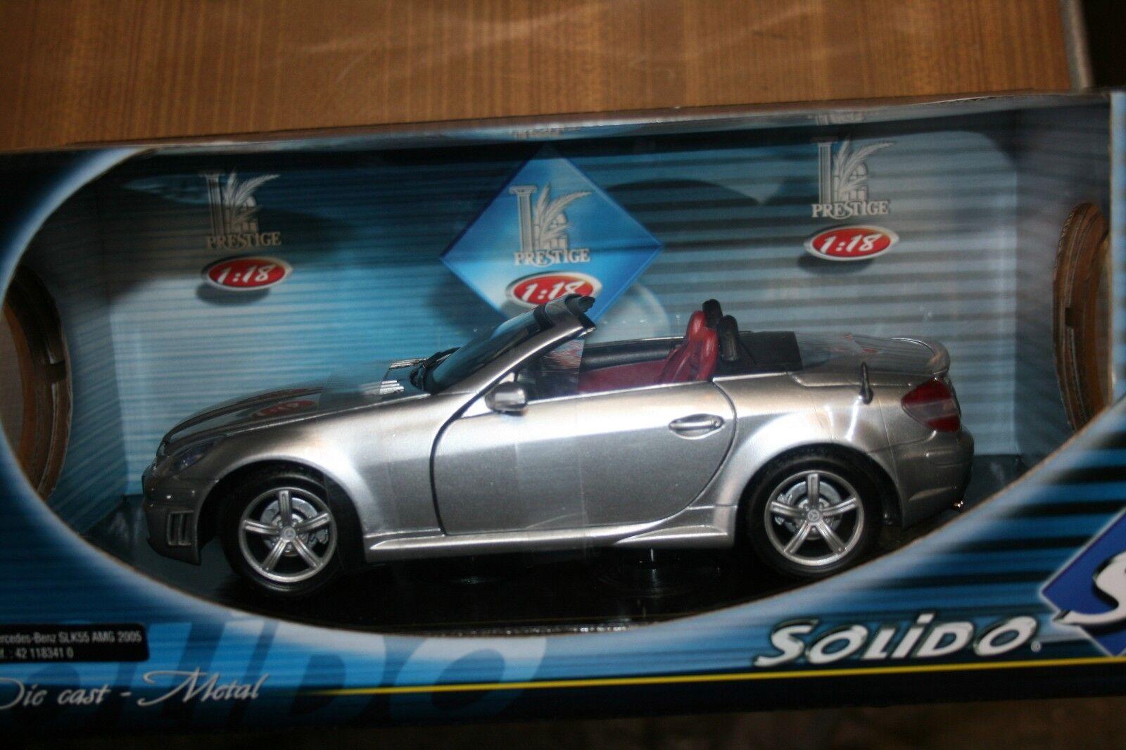 SOLIDO 1    18 MERCEDES-BENZ SLK 55 AMG 2005 e5add4