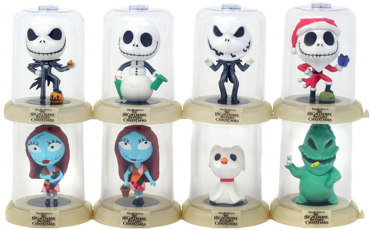 Domez Series 1 Nightmare Before Christmas Set of 8 Figures