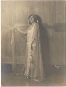 1900s-Juliet-Fine-Art-Portrait-Signed-Church-San-Francisco-Gelatin-Photo