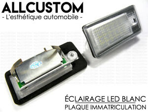 LED-LICENSE-PLATE-LIGHT-XENON-WHITE-for-AUDI-A3-8P-S3-A4-S4-B6-B7-A6-S6-A8-S8-Q7