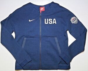 Details about Nike Womens Tech Fleece Team USA Basketball Full Zip Jacket Olympics Sz M, XXL