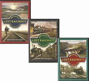 BRITAIN-039-S-LOST-RAILWAYS-MOST-BEAUTIFUL-3-DVD-SET-LONDON-amp-THE-SOUTH-MORE