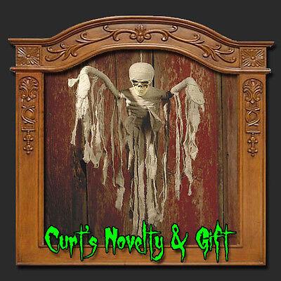Hanging 30 Quot Mummy Halloween Haunted House Prop 291 Ebay