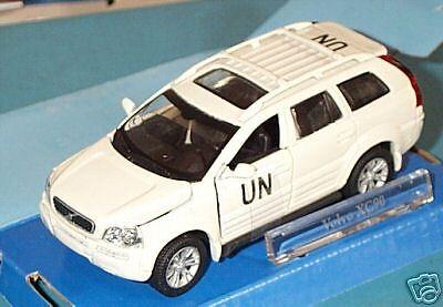"scale 1//43 white wonderful Dutch code-3-modelcar VOLVO XC90 /""UN/"" 2005"