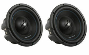 2-Hifonics-TW10D4-Titan-800W-10-034-Dual-High-Power-Car-Audio-Subwoofer-Package