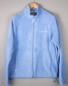 Columbia Damen Reißverschluss Fleece Pullover Sweatshirt Größe XL AVZ439