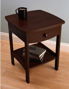 Prime Details About Small Side End Table Storage Wood Living Room Drawer Bed Sofa Stand Shelf New Gmtry Best Dining Table And Chair Ideas Images Gmtryco