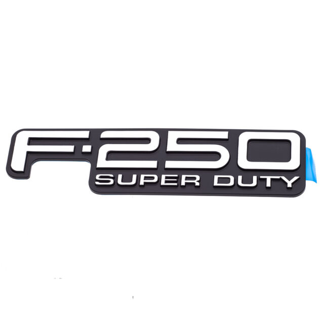1999-2004 Ford F250 Super Duty Tailgate Emblem Nameplate Decal OEM F81Z9942528DB