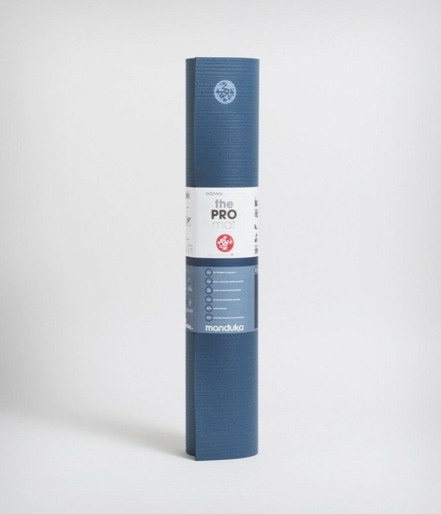 New Manduka Pro Yoga Mat - Odyssey Blau