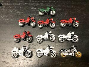 LEGO Orange Minifig Motorcycle Dirtbike Accessory