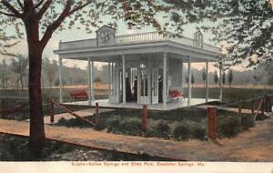 Excelsior Springs, Missouri MO ~ Sulpho Saline Pavilion